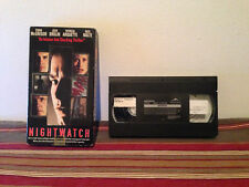 Nightwatch (VHS, 1998) Tape & sleeve