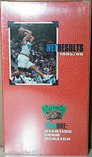 Net Results Vancouver Grizzlies VHS Tape Starting from Scratch NEW 1995 1996