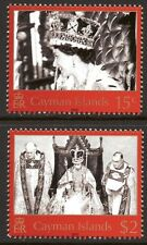 Cayman Islands 2003 Coronation set of 2 Mint Unhinged