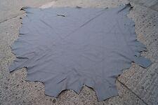 LEDER Rindsleder ( 200x 200 cm) COWHIDE Möbelleder Bastelleder Autoleder grau