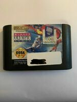 WINTER OLYMPIC GAMES - GENESIS - GAME ONLY - FREE S/H -(G2)