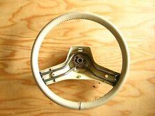 "Used Jeep SJ Grand Wagoneer Steering Wheel OEM ""Sand"" Color 1989~91 8350 3181"