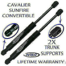 2 Rear Trunk Lid Lift Supports Shock Strut Rod For Cavalier Sunfire Convertible