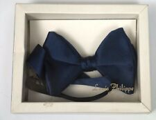 Louis Philippe Dresswear Navy Blue Bow Tie Elasticated VINTAGE