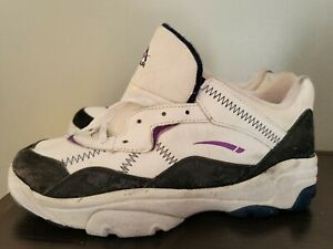L.A. GEAR SHOES LOW TOP Sz 10 US MENS WHITE NOS vtg vintage Deadstock shoes 1996