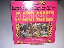 Jo Ann Castle Lawrence Welk's Ragtime Gal! Pickwick 33 SPC-3072 G+ / VG