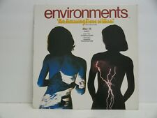 ENVIRONMENTS DISC 11  33 RPM ALPINE BLIZZARD/COUNTRY THUNDERSTORM SD66011 VG++