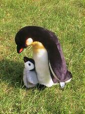 Pinguin mit Baby, stehend 27 cm