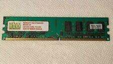 NEMIX RAM 2GB PC2-4200 533MHZ CL5 1.90V 16Chips UBF MD4200-228 for Desktop