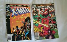 UNCANNY X-MEN #159,160 WOLVERINE 2 comic book lot