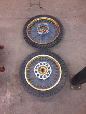 Yamaha Yz 125 250 98-19 Yzf 450 Excel Rims Gold Talon Hubs Talon Wheels