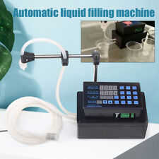 Digital Mini Liquid Filling Machine Auto Bottled Water Filler Self Priming Pump