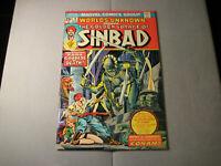 Worlds Unknown #8 The Golden Voyage of Sinbad (1974 Marvel) Read