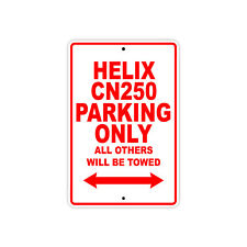 HONDA HELIX CN250 Parking Only Towed Motorcycle Bike Chopper Aluminum Sign