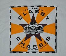 T-SHIRT XL XLARGE CLASSIC CAR SHOW HELOTES TEXAS VINTAGE HOT ROD SHIRT