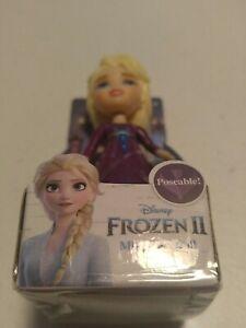 "Disney Frozen II Poseable Mini Doll Toddler Miniature 3.5"" ELSA Free Shipping"