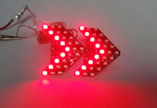 2x 27 SMD LED Panel For MB Mercedes Rear View Side Mirror Turn Signal Light Red