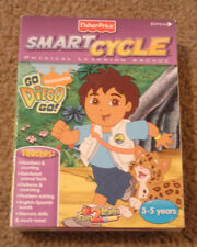 Fisher Price Smart Cycle Physical Learning Arcade Go Diego Go Animal Rescue Game