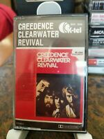 Creedence Clearwater Revival Italian Import K-tel RARE Hits Cassette Paper Label