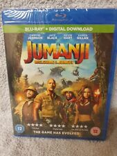 Jumanji Welcome To The Jungle (Dwayne Johnson) Blu Ray New & Sealed