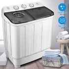 17lbs Portable Mini Twin Tub Compact Washing Machine Washer Spin Dryer W/ Hose photo