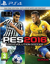 Pro Evolution Soccer PES 2016 (Calcio) D1 Day One Edition PS4 Playstation 4