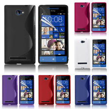 Protective Cover For HTC Windows Phone 8S TPU Silicone Flip Case Cover