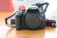 Canon EOS 700D / Rebel T5i 18.0 MP SLR-Digitalkamera - Schwarz (Nur Gehäuse)