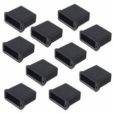 10pcs Silicone USB Male Anti-dust Plug Stopper Cap Silicone Cover Protector Lids
