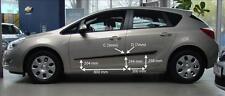 Schutzleisten für Opel Astra J, ab Baujahr 2010