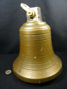 grosse cloche en bronze de maison bourgeoise XIXéme 7,375 kg