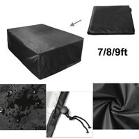 7/8/9ft Polyester Waterproof Fabric Outdoor Pool Snooker Billiard Table Cover