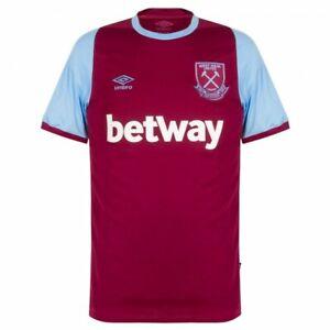 2020/21 Umbro West Ham United F.C. Home Mens Shirt Jersey BNWT Jesse Lingard