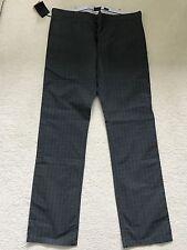 Paul Smith braguette boutonnée carreaux Jean pantalon 32 R neuf avec étiquette