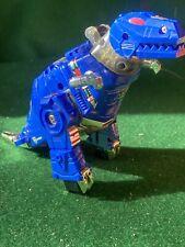 Vintage Transformers Grimlock, Dinobot  G2  Blue 1993
