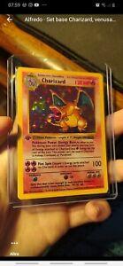 Pokemon Card Charizard 4/102 shadowless 1st First Edition Base Set Psa proxy