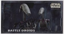 STAR WARS TOPPS EPISODE 1 SERIES 2 WIDEVISION HOBBY EMBOSSED FOIL H-E2 BT DROIDS