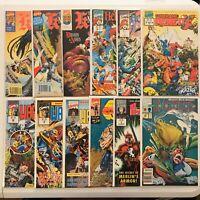 Lot of 12 Modern & Copper Marvel UK Comics (Knights of Pendragon, Warheads)