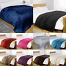 Luxury Large Faux Fur Throw Sofa Bed Mink Soft Warm Fleece Blanket BIG CLEARANCE