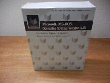 UNOPENED SEALED Vintage Microsoft MS-DOS Operating System Version 4.01 Kenitec