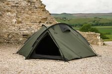 Snugpak The BUNKER Four Season 3 Person Camping Expedition Olive Dome Tent 92890