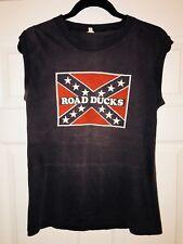 Vintage Roadducks Concert Shirt Get Ducked Screen Stars M Muscle Southern Rock