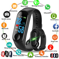 M3 Smart Band Watch Bracelet Wristband Fitness Tracker Blood Pressure Heart Rate