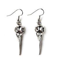 Bird Skull Earrings - Unique Accessories - Women's Jewelry - Handmade - Gift Box