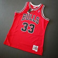 100% Authentic Scottie Pippen Mitchell & Ness 97 98 Bulls Jersey Size L 44 Mens