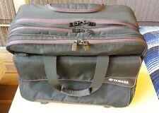 YAMAHA Black Bag AXIO 2 Wheel, expandable handle Pre-owned & shows wear on back