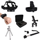 Pack Accessories Set Storage Case Chest Head Strap for Gopro HD Hero 1 2 3 3+ 4