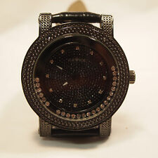 ICE Brand Men's Black Leather Watch