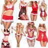1PC Sexy Women Santa Christmas Ladies Xmas Cosplay Fancy Dress Costumes 12Styles