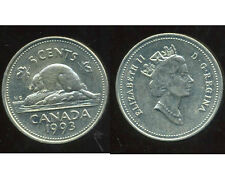 CANADA 5 cents  1993